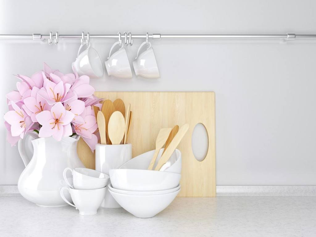Å rydde gir oversikt og harmoni til kjøkkenet