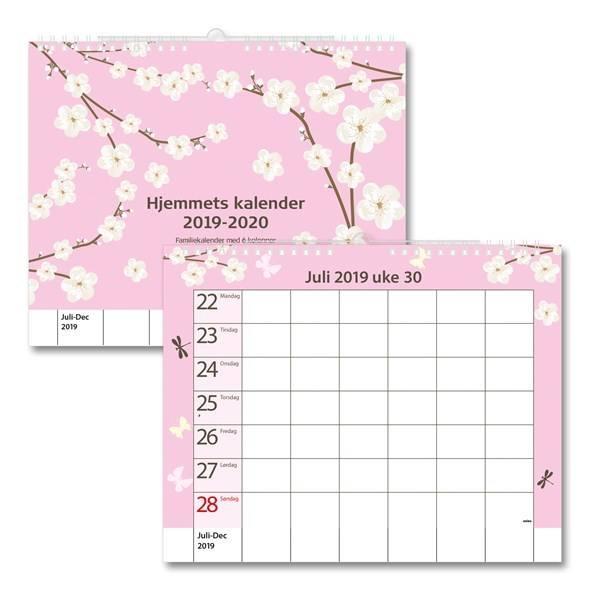 Adlibris har stort utvalg familiekalendere